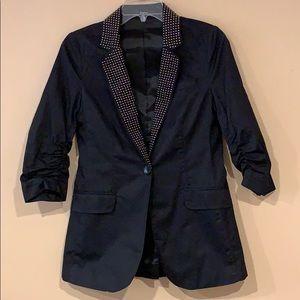 Express Studded Collar Blazer Sz 0